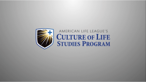 Culture of Life Studies Video