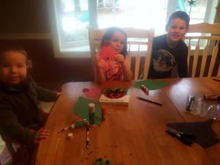 The J family used the Ladybug Warriors free lesson during their study of Life Is Precious