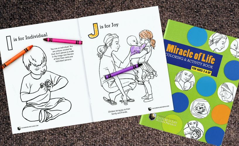Miracle of Life Coloring and Activity Book