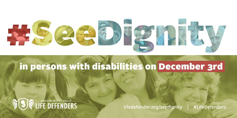 Help Your Children #SeeDignity in People with Disabilities