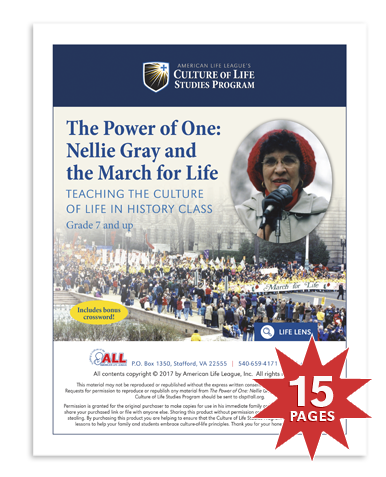 The Power of One: Nellie Gray and the March for Life